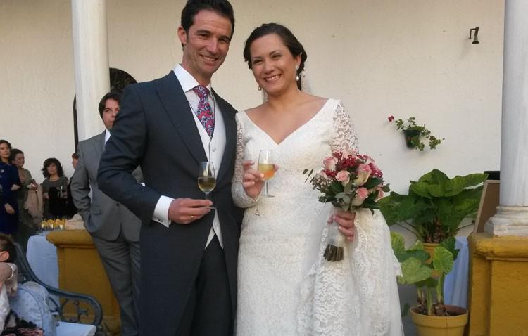 Luis Vilches y Rocío Clavijo, boda en Utrera