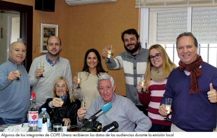 COPE Utrera (98.1 FM) vuelve a batir récord y alcanza los 12.000 oyentes diarios