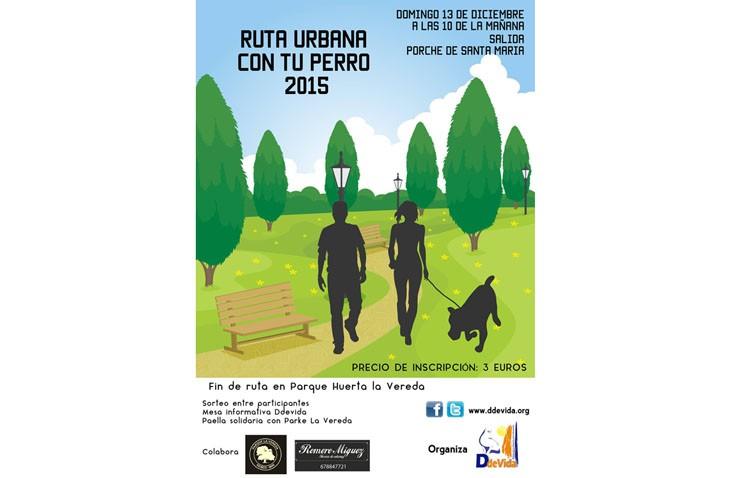 Ddevida organiza una ruta urbana con perros
