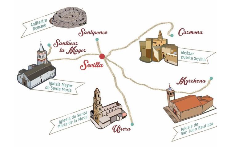 Una cadena de hoteles de lujo sitúa Utrera entre los cinco pueblos con más encanto de la provincia