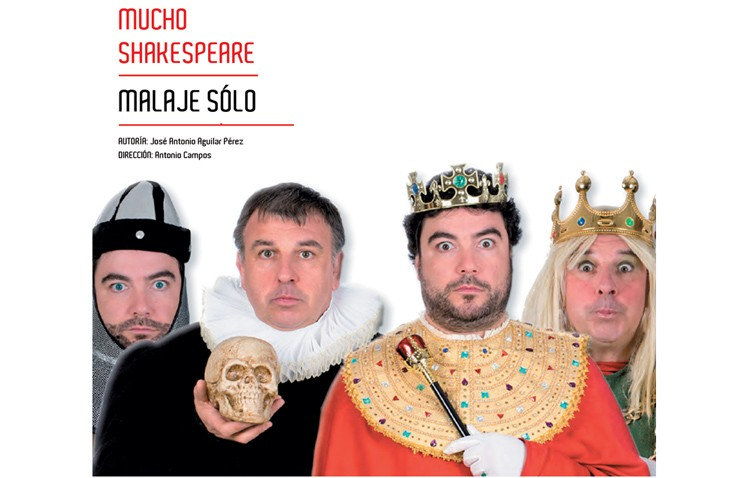Noche de risas con la obra «Mucho Shakespeare»