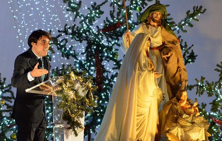 Un sueño por «la verdadera Navidad» pregonó el nacimiento de Jesús (IMÁGENES Y AUDIO)