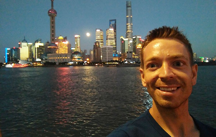 El utrerano Pedro Jesús Rodríguez Bella, un fisioterapeuta del Sevilla FC a Shanghái