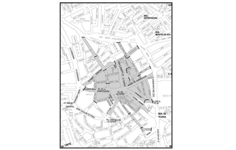 Plan de tráfico con cortes de circulación en el centro de Utrera durante la cabalgata
