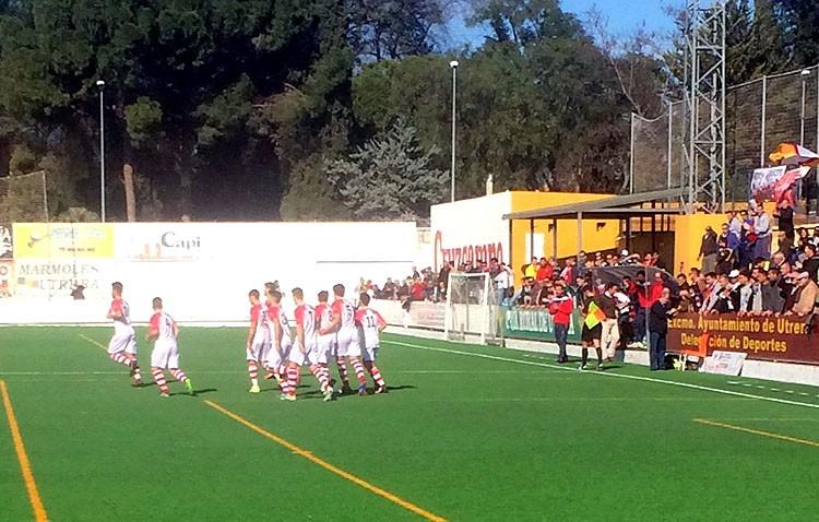 C.D. Utrera 3-4 Atlético Sanluqueño CF: Los de Montoya desaprovechan las ventajas en el marcador y caen ante un buen rival
