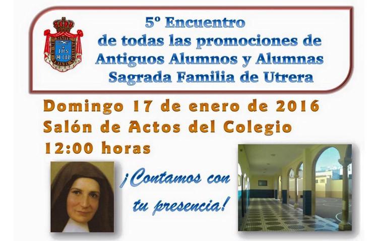 El colegio Sagrada Familia organiza un encuentro de sus antiguos alumnos