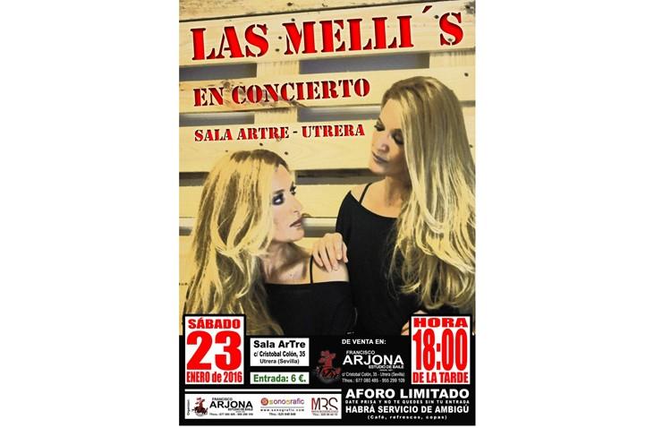 Las Melli's llegan a Utrera con un «Concierto con Artre»