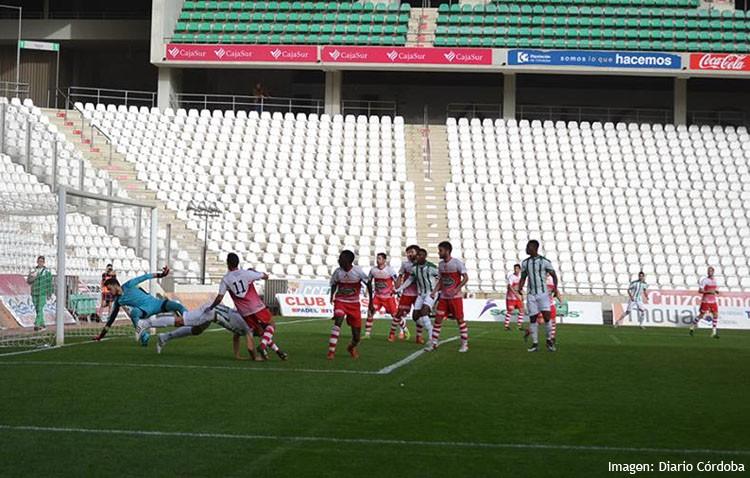 C.D. Córdoba 5 – 0 C.D. Utrera: El conjunto utrerano es goleado en la casa del líder