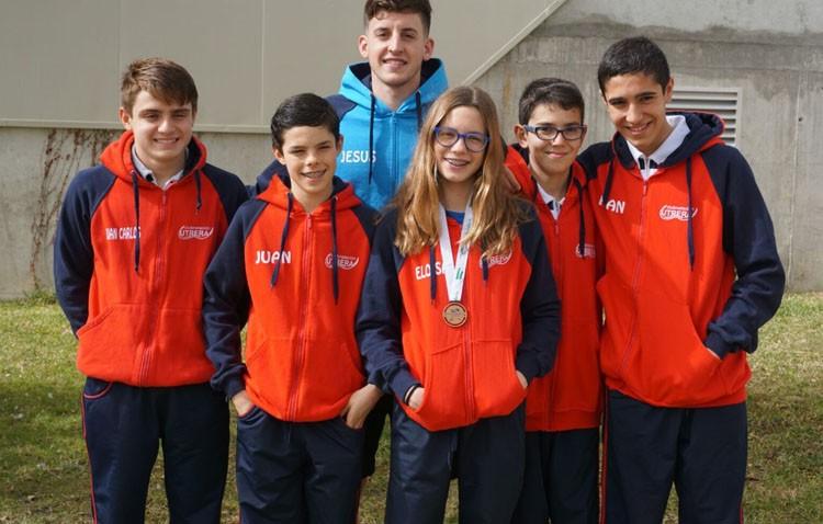 Magníficos resultados para los deportistas utreranos en el Campeonato Andaluz de Natación