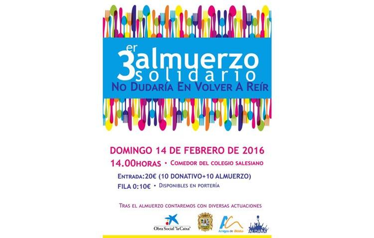 Aldaba organiza un almuerzo solidario en beneficio de su proyecto contra la exclusión social infantil