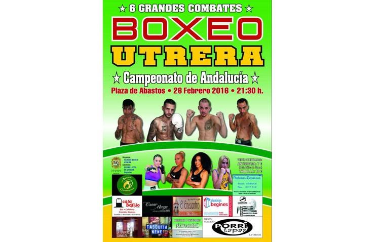Sin escenario para la final del campeonato de Andalucía de boxeo a pocas horas de su celebración en Utrera