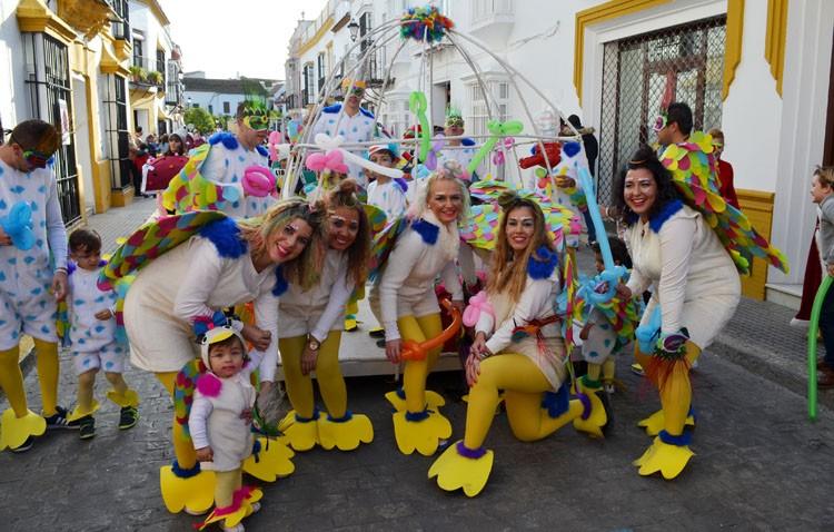 Utrera disfrutó de un multitudinario carnaval (GALERÍA)