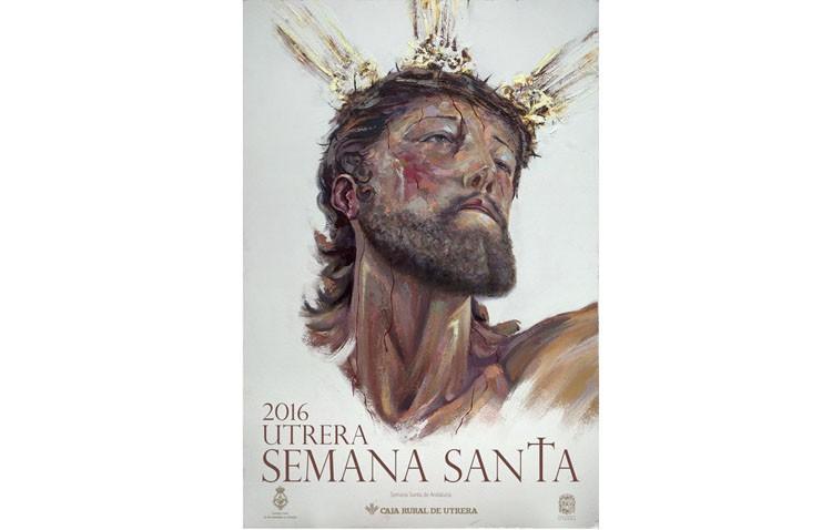 Un primer plano del Cristo del Perdón, protagonista del cartel de Semana Santa (IMÁGENES)