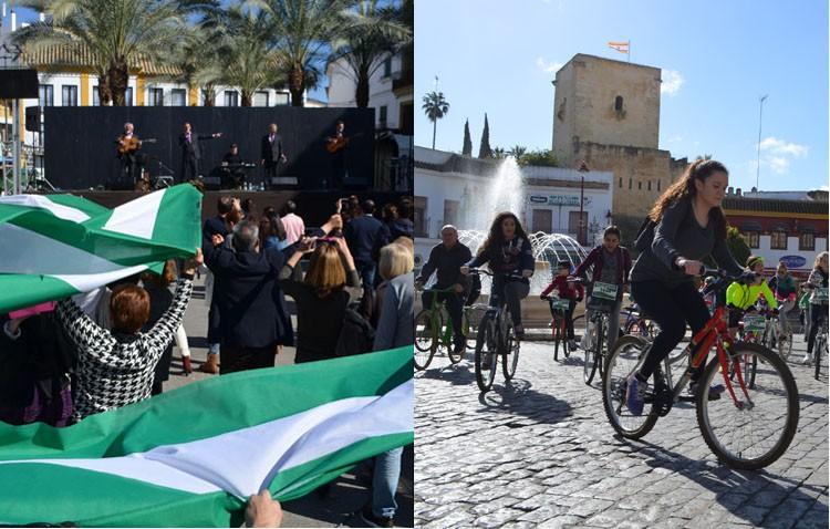 Utrera sale a la calle para celebrar el Día de Andalucía (GALERÍA)