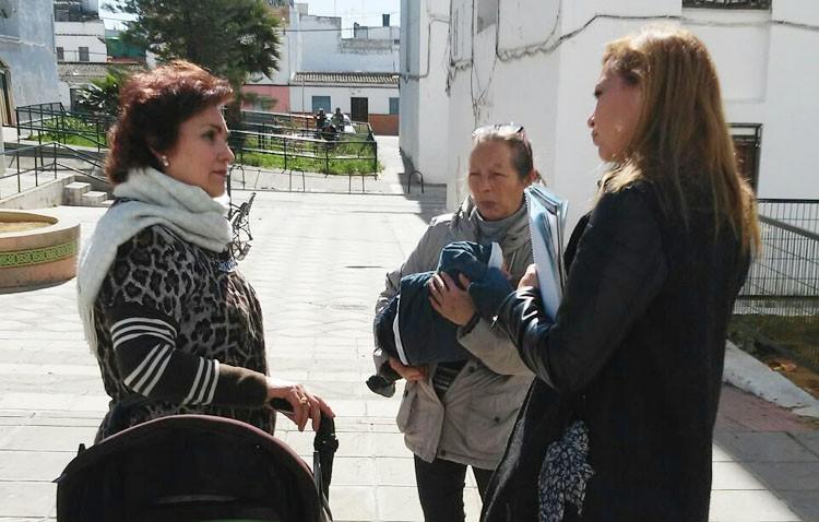 El Ayuntamiento pone en valor el «buen funcionamiento» de la asociación de vecinos de la barriada La Paz