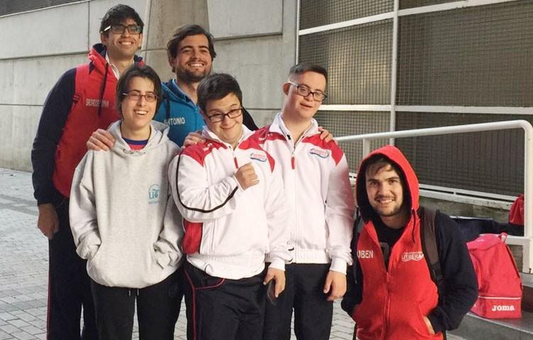 Utrera presente en la primera jornada de Natación Adaptada en Sevilla