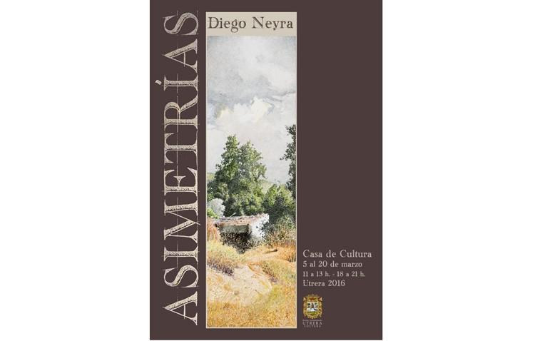El pintor Diego Neyra protagoniza la exposición «Asimetrías»