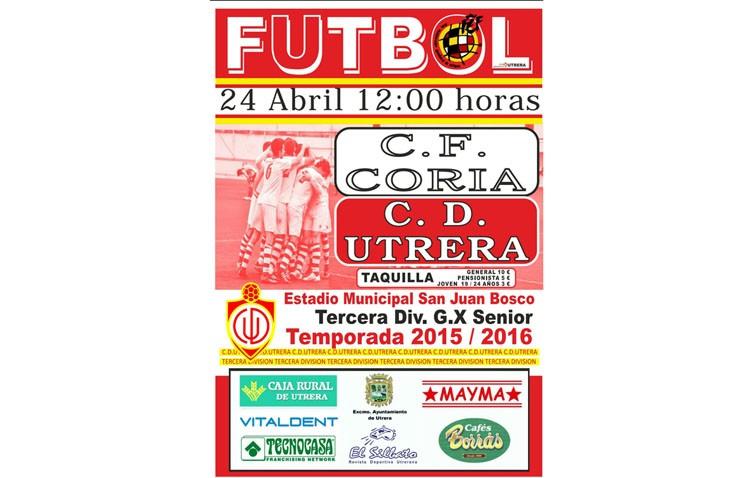 C.D.Utrera – Coria CF: A por la tercera victoria consecutiva en el «Family Day»