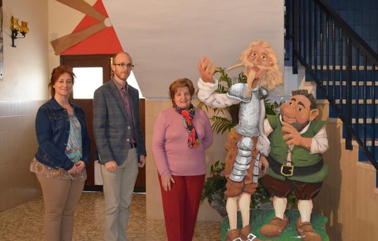 El colegio Sagrada Familia se acerca a Cervantes en el cuarto centenario de su muerte (AUDIO)
