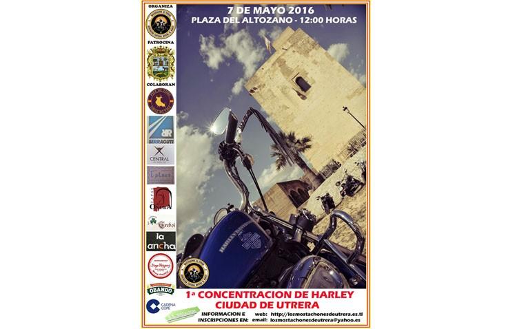 Una concentración de Harley-Davidson tomará las calles de Utrera el 7 de mayo