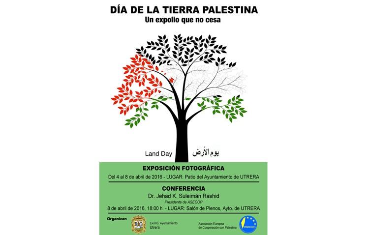 Una exposición y una conferencia sobre «un expolio que no cesa» en Palestina