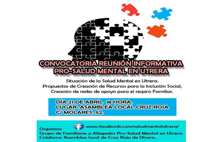 Una sesión informativa para hablar de la situación de la salud mental en Utrera