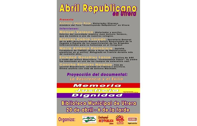 Una mesa redonda hablará de memoria histórica en España