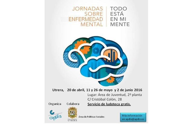 Nueva cita en Apdis con las jornadas sobre enfermedad mental
