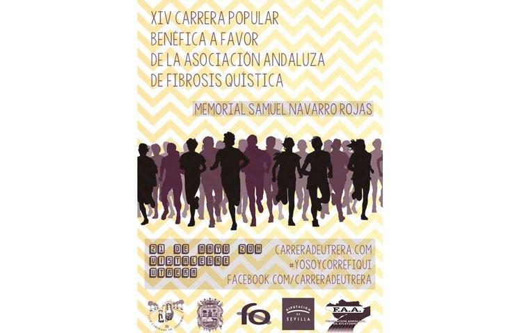 Carrera en Utrera a beneficio de la Asociación Andaluza de fibrosis quística