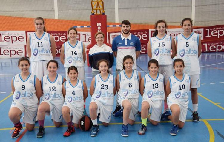 Gran comienzo para las utreranas en el Campeonato Infantil de Baloncesto