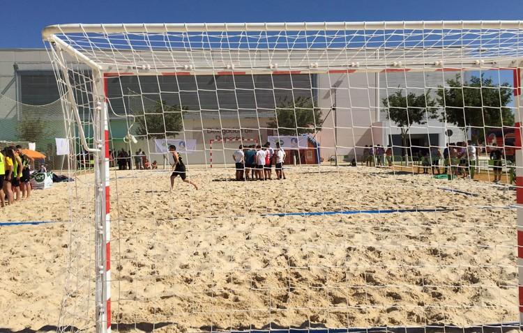 Balonmano playa y ciclismo, protagonistas en Vistalegre