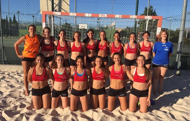 Dos utreranas representarán a España en el campeonato europeo de balonmano playa