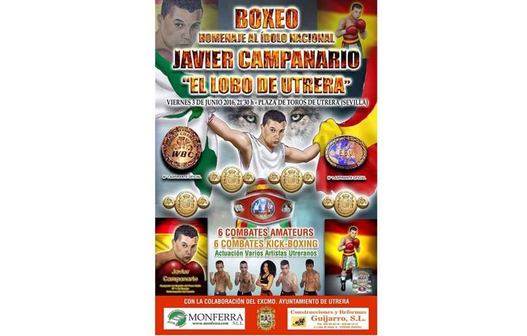 Homenaje al boxeador utrerano Javier Campanario «el lobo de Utrera»