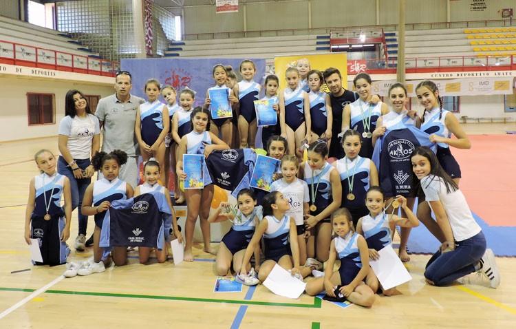 El Club Gimnástico Akros cierra la temporada con magníficos resultados