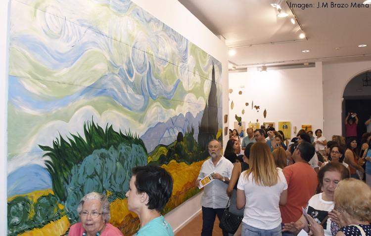 Inaugurada la exposición de fin de curso de la Casa de la Cultura (IMÁGENES)