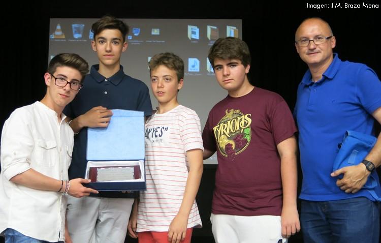 El colegio Álvarez Quintero y el instituto Virgen de Consolación recibieron los premios del concurso escolar de vídeos