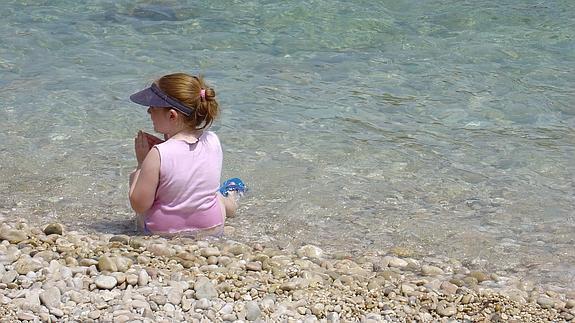Qué hacer si un niño se pierde en la playa