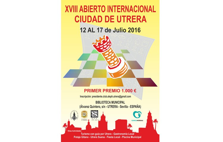 Primera jornada del abierto internacional de ajedrez