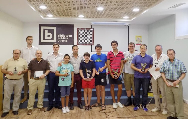 El marbellí Andrés Merario consigue la victoria en el abierto internacional de ajedrez utrerano (IMÁGENES)