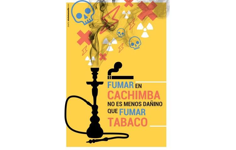 La unidad de gestión clínica Utrera Sur alerta de las consecuencias de fumar cachimba