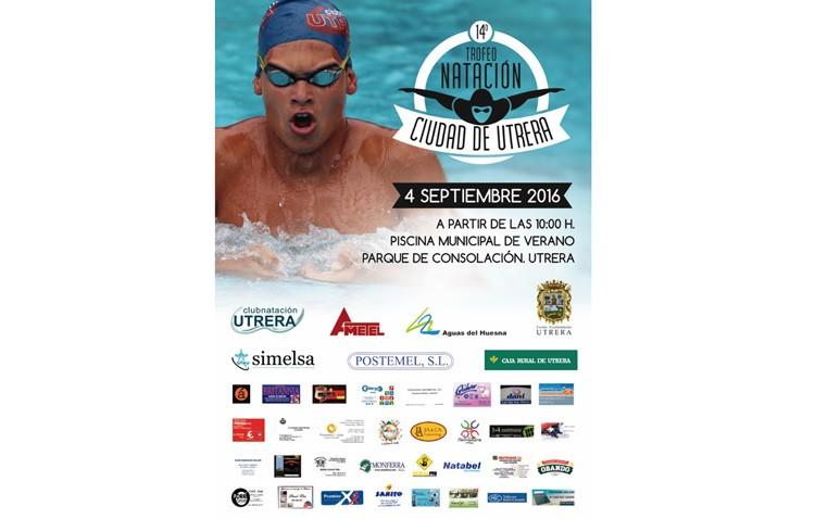 El trofeo de natación «Ciudad de Utrera» llegará a la piscina de Consolación el 4 de septiembre