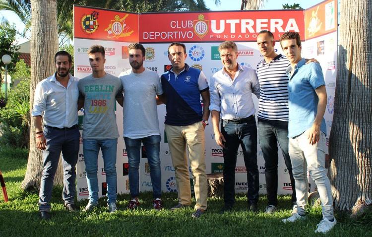El C.D.Utrera presenta cinco nuevos fichajes para la próxima temporada
