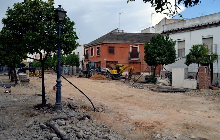 El gobierno local confía en reducir los plazos de la obra de La Corredera