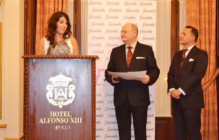 La utrerana Cristina de los Ángeles García, Estrella de Oro de la Excelencia Profesional