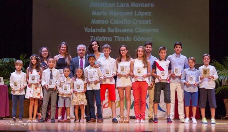 Dos utreranos, galardonados en la primera gala de Karate Andaluz