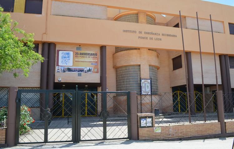Denuncian las «amenazas y faltas de respeto» de un padre contra un profesor del instituto Ponce de León