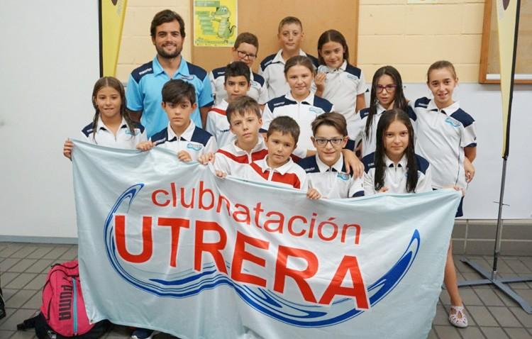 Medalla de plata para el Club Natación Utrera en el Campeonato de Andalucía