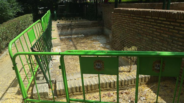 El PP denuncia el «deterioro, abandono y alarmante degradación» del parque de La Vereda