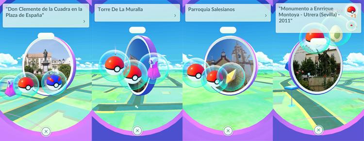 Los «pokémon» revolucionan las calles de Utrera