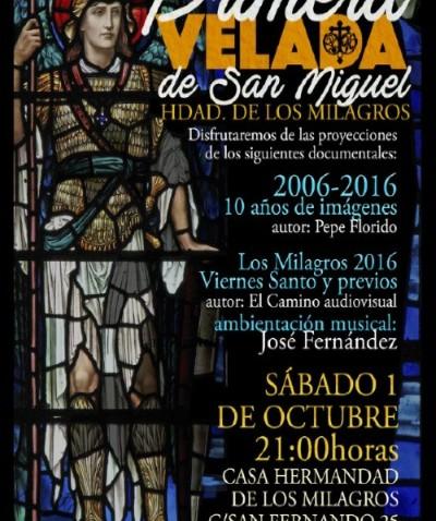 Velada de San Miguel en octubre